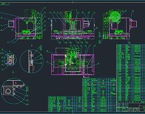 3D CNC Vertical Machining Center MS700A