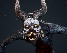 3D asset Demon 10