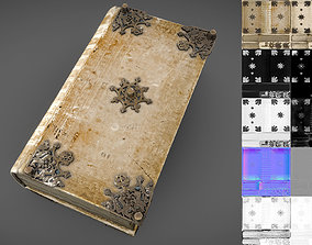 3D model low-poly Ancient Book