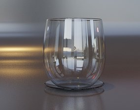 3D drink glass cup