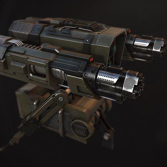 Portable Turret