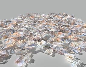 3D model Dry Maple Leaves Pack