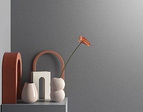 3D Anthurium with Decorative Objects