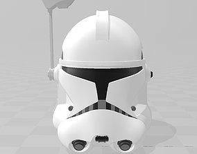 Star Wars Captain Rex Phase II Helmet 3D print model