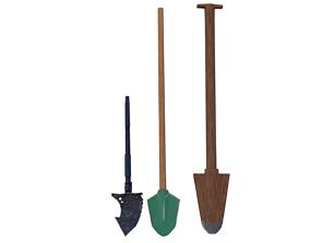 3D Shovels