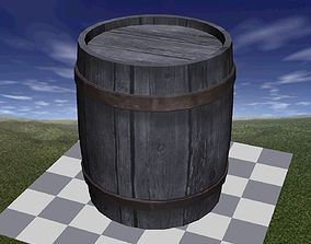 Barrel Well Textured 3D model