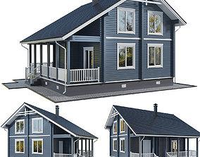 3D House terrace
