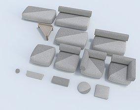 3D Dedon the BRIXX collection