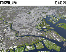 Tokyo Japan 3D