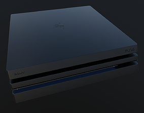 VR / AR ready PS4 Pro - 3D Model