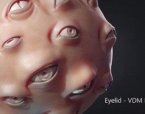 Zbrush - Eyes - VDM and IMM Brushes 3D model