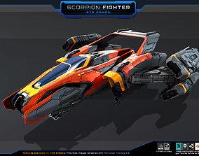 SF - Scorpion Fighter 3D model