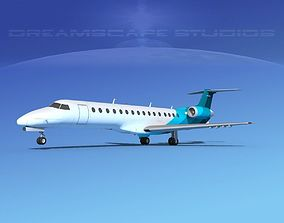 Embraer ERJ-140 Corporate 2 3D model
