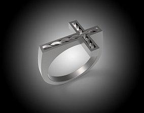 3D model Cross Ring