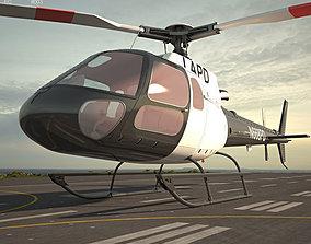 3D model Eurocopter AS350