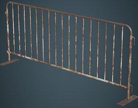 Crowd Barrier 3B 3D asset