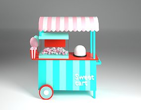 3D model realtime Cotton candy
