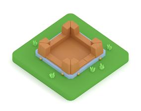 3D print model Clash of Clans Gold Storage - Level 1