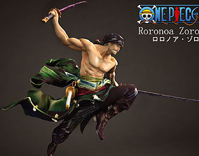 3D model Roronoa Zoro