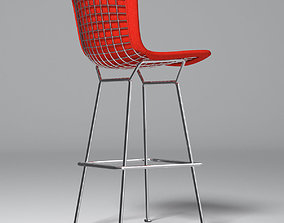Bertoia Stool with Full Cover - Knoll 3D