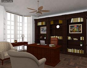3D model Office Set 25 Classic