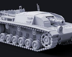 3D print model RU-30 Badger Infantry Support Tank - 2