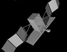 3D Radar satellite