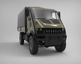BREMACH T-REX 2 3D model iveco-truck