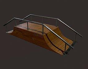 3D model Skate ramp8
