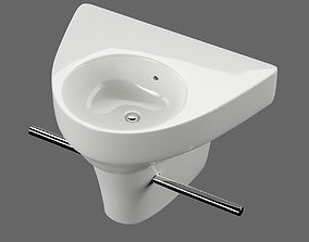 3D model Washbasin Duravit Starck 2 art 071450