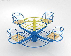 Playground Merry Go Round 002 3D model