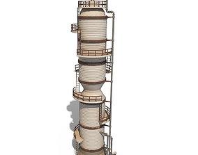 Industrial facility v4 3D asset