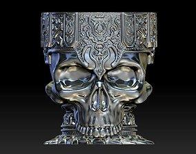 3D printable model Bronze Skull Bowl