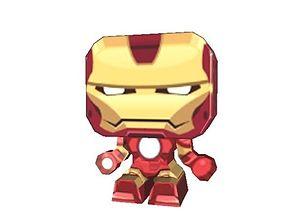 Iron Man AAA 3D asset