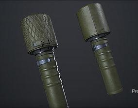 RGD-33 -newcolor - PBR -2k - FPS ready - lods 3D model