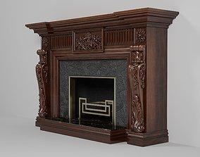 Fireplace M01 3D model