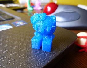 Hello Kitty Printable Blocky Version Easy Print