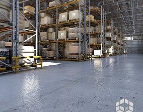 Warehouse interior 2 3D