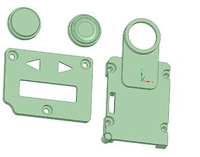 Billetbox rev 4 Inner panels USB version 3D print model