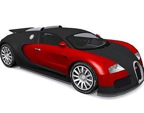Bugatti EB 164 Veyron 3D asset