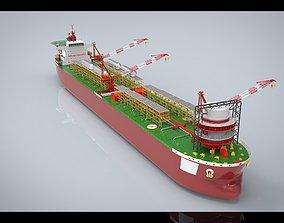 3D model FPSO Vessel