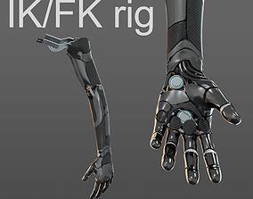 3D Robotic hand anatomy