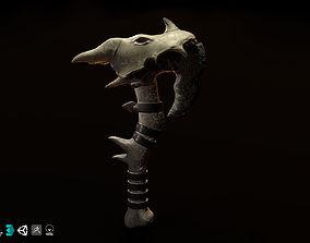 Axe shaman norse 3D model
