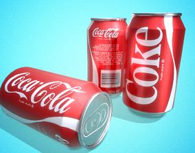 3D asset Soda Cans