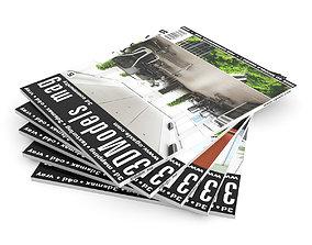 3D Magazines Set 01