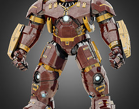 3D Hulkbuster - Avengers Age of Ultron RIGGED