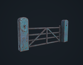 Farm Gate 3D model