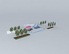 Stage 3D model stage