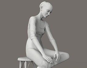 Ballerina Sculpt art 3D print model