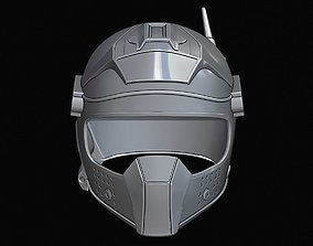 3D print model Mozzie helmet